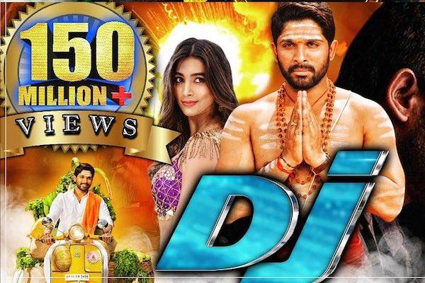 Allu Arjun's 'Duvvada Jagannatham' Hindi dubbing clocks 150 mn views