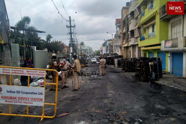 4 persons were killed in police firing after riots broke out