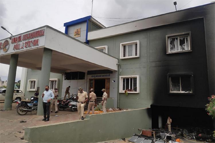 DJ Halli Police Station, Bengaluru