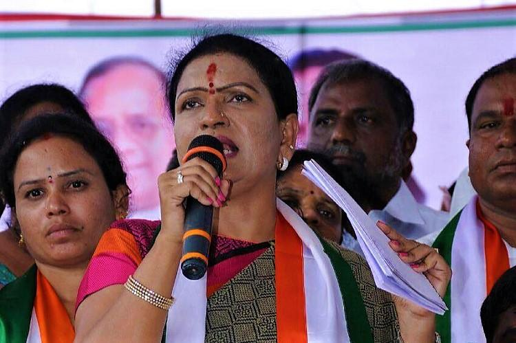 Telangana govt is tapping phones of Congress leaders DK Aruna alleges