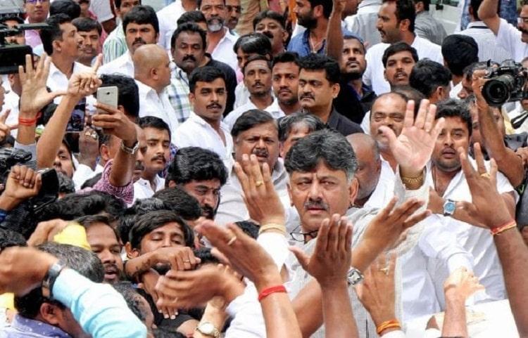 Protests in Bengaluru against DK Shivakumars arrest Full list of traffic diversions