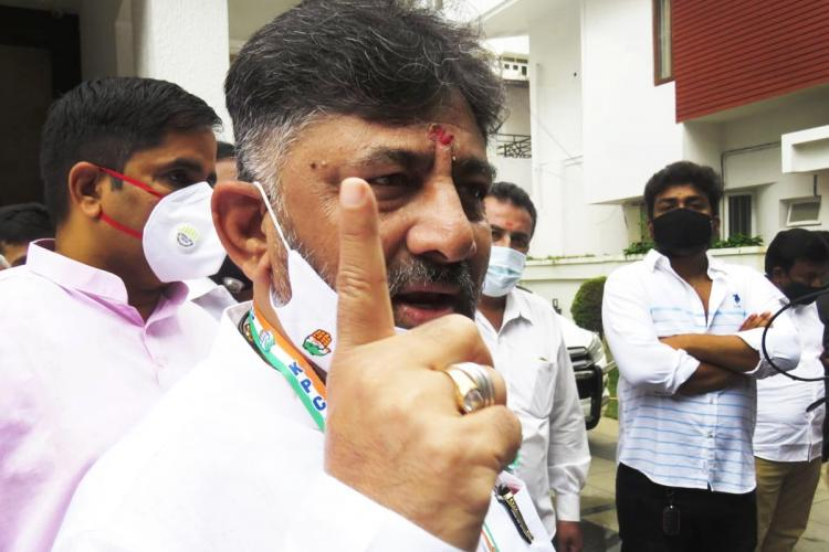 DK Shivakumar takes charge as KPCC chief party members log on from 7800 locations for event