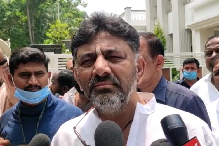 KPCC President DK Shivakumar