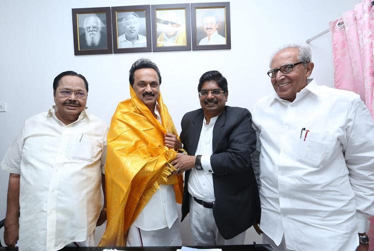 Advocate Wilson trade union leader Shanmugam are DMKs picks for Rajya Sabha