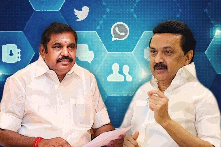 Chief Minister Edappadi Palaniswami and DMK chief MK Stalin are both focusing on improving their IT wings to fight election 2021