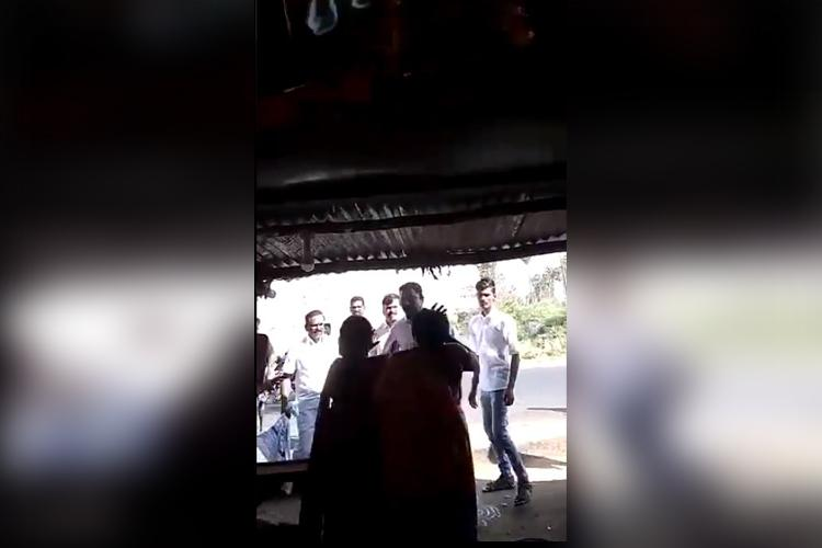 DMK man four others assault women shopkeepers in TN absconding