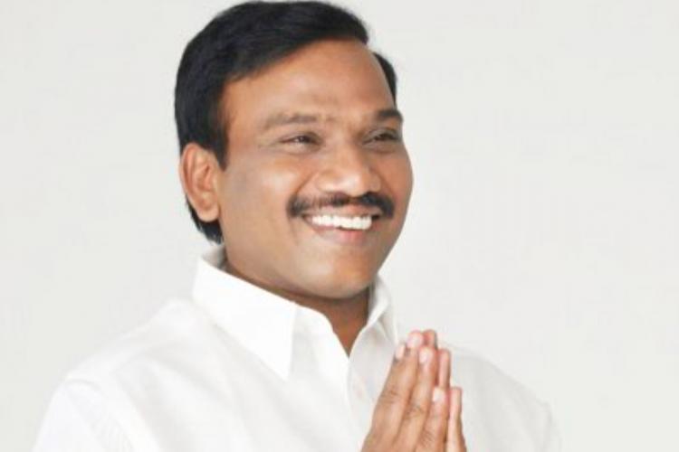 DMK MP Raja