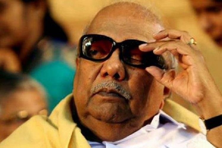 Karunanidhi health update Latest medical bulletin says leader is stable