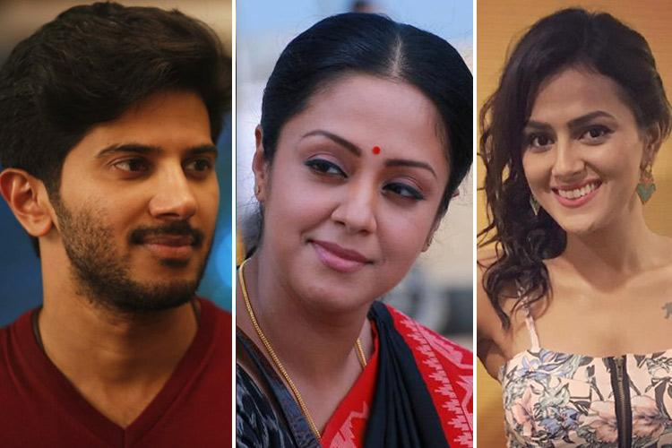 Dulquer Jyotika Shraddha and others on what theyre doing during lockdown