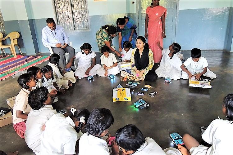 Meet Aditi who is teaching robotics to improve lives of underprivileged girls in TN