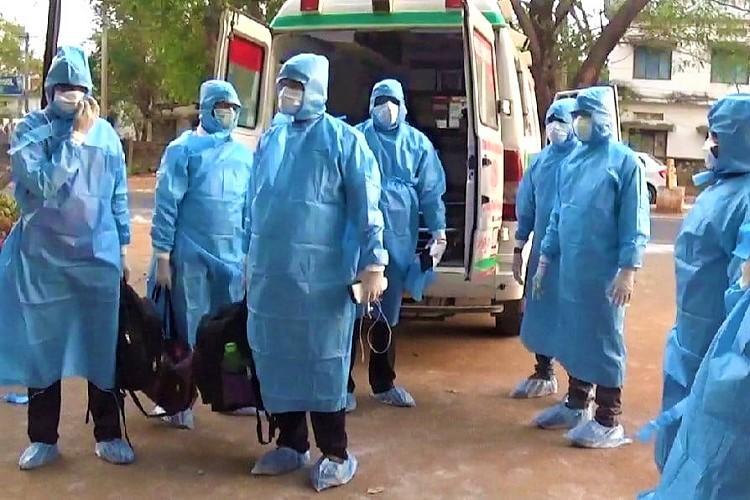 Telangana top cops son violates quarantine tests positive for COVID-19