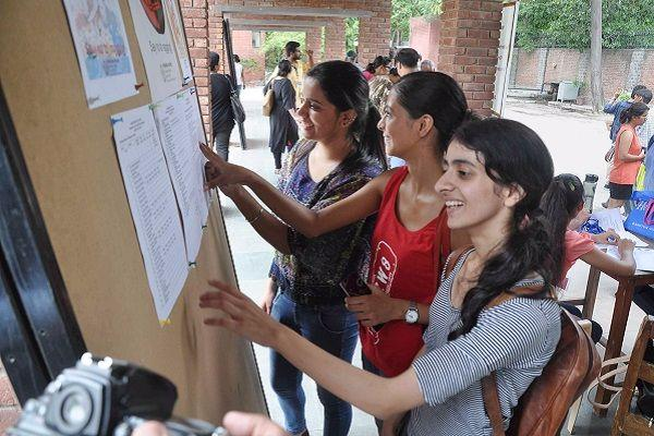 DU colleges drop admission cut-offs fraction below 100 per cent Twitterati have a field day