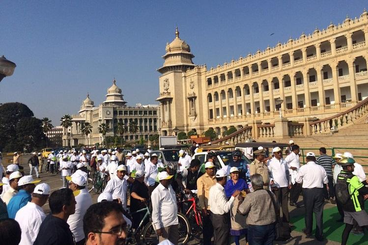 Less Traffic Day Air quality improves in Bengaluru but activists remain sceptical
