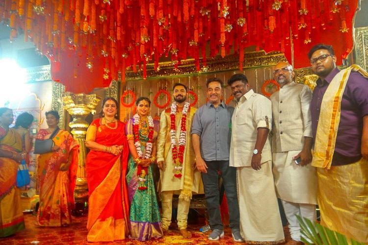 Kannathil Muthamittal Keerthana marries director Akshay Akkineni