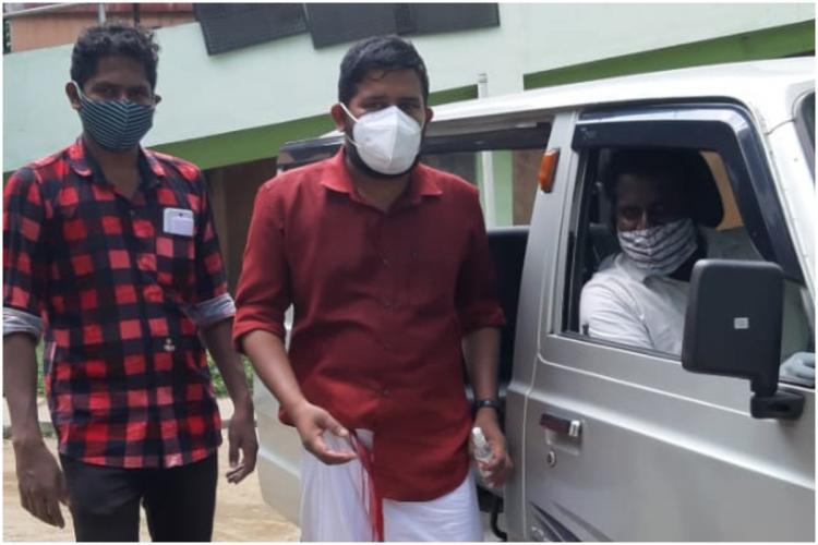 Kerala DYFI Men Thejas and Sandeep who saved a BJP mans life