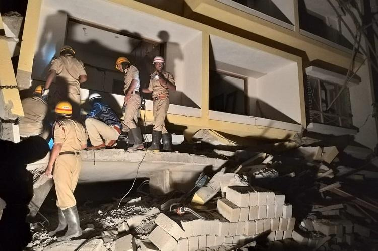 Building collapses in Bengaluru Three including toddler dead over six rescued