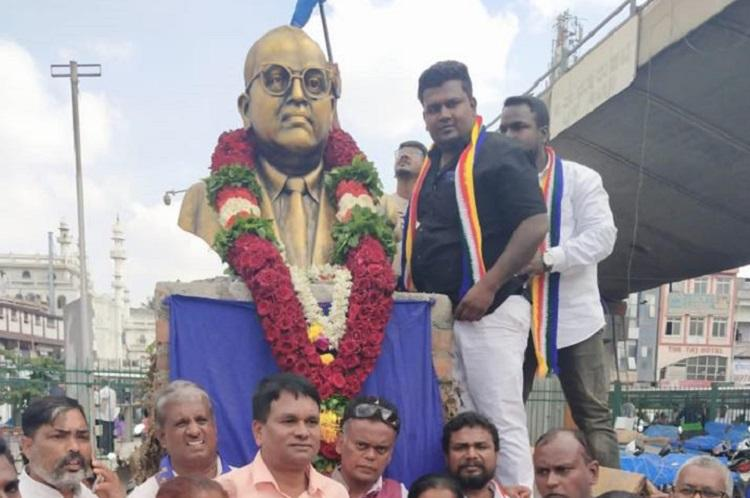 ambedkar-statue-installed-without-permission-at-a-bus-stand-in-bengaluru/