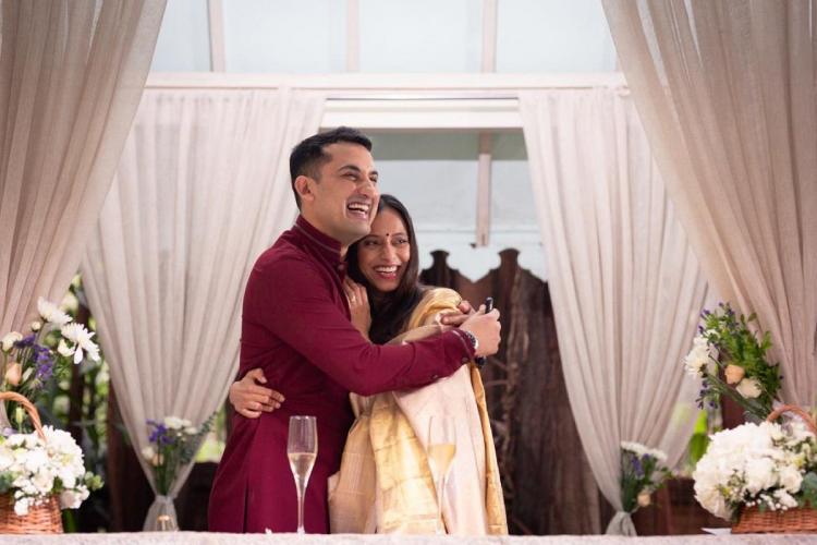 Danish Sait and Anya Rangaswami wedding
