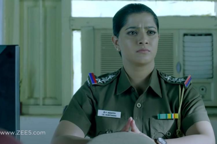 Watch Varalaxmi Sarathkumars Danny trailer out