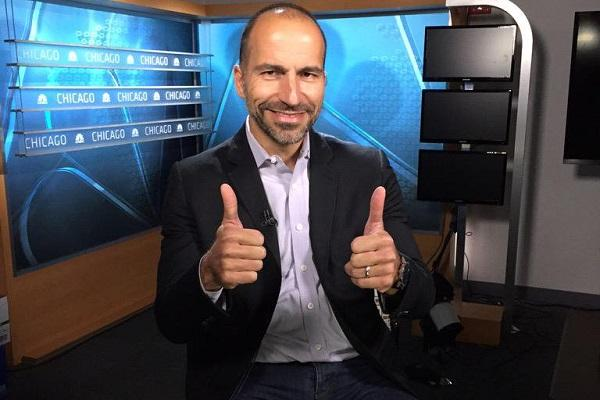 I have to tell you I am scared Dara Khosrowshahi on being officially appointed Uber CEO