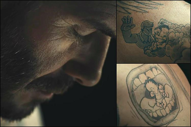 Tell it like Beckham In tattoos sports icon talks of abuse no child should experience