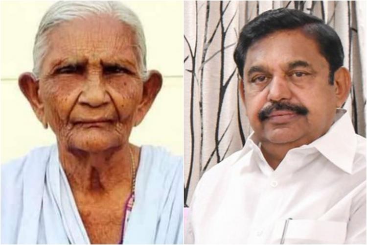 Davusayammal and Edappadi K Palaniswami collage