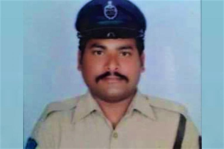 Hyderabad constable Dayakar Reddy
