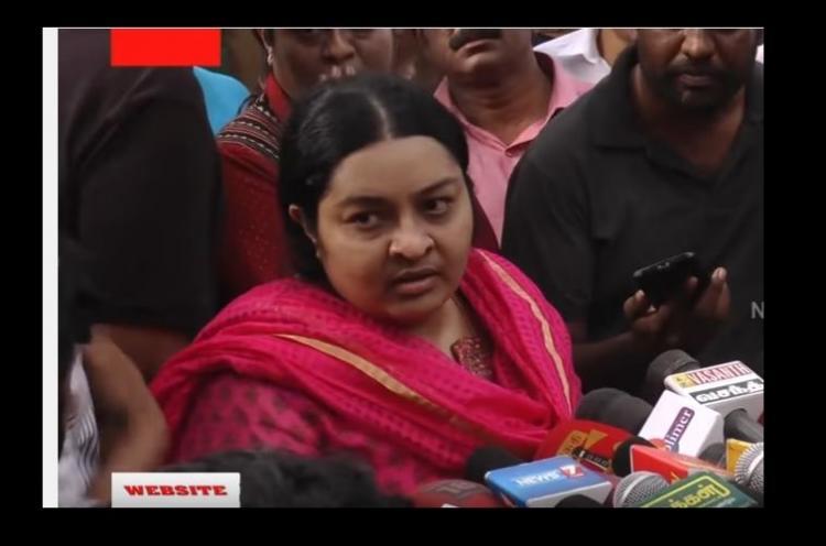 I am Jayalalithaas legal heir and I am ready to fight Deepa Jayakumar to TNM