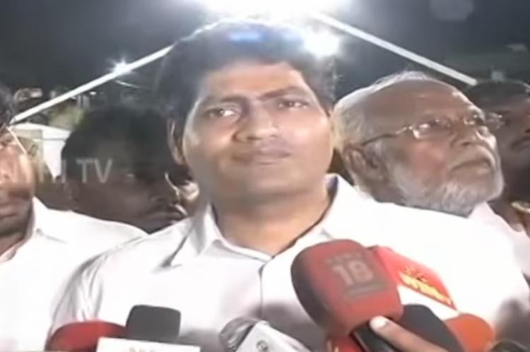 J Deepas husband starts his own party says evil forces influencing her