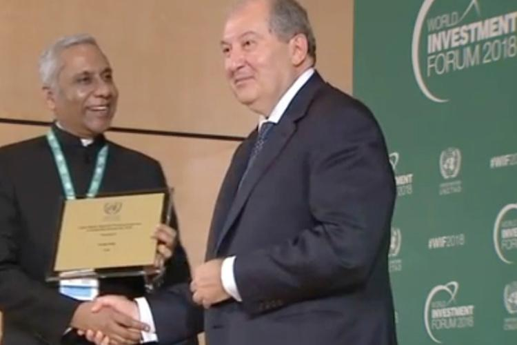 Invest India wins top UN award for boosting investments in renewable energy sector