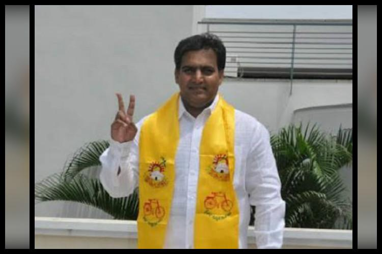 Naidu suspends TDP MLC Deepak Reddy involved in Hyderabad land scam