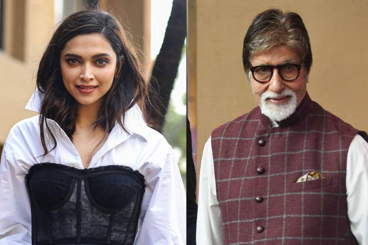 Deepika Padukone, Amitabh Bachchan