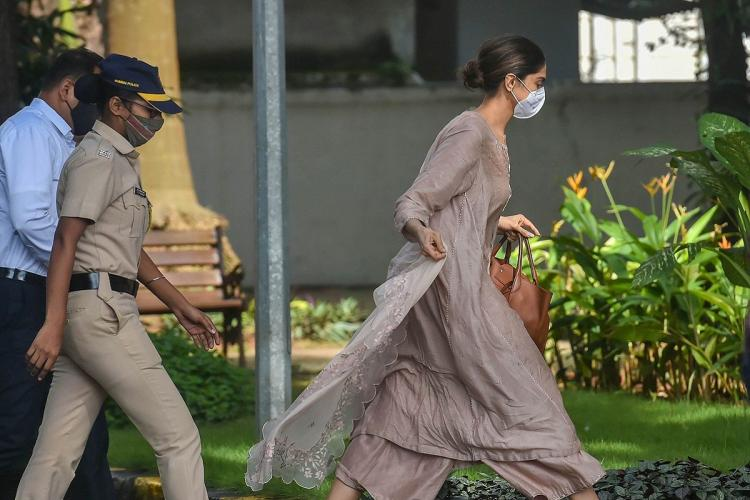 Deepika Padukone appears for questioning before NCB in drug probe | The  News Minute