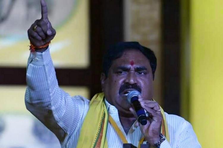 TDP suffers double jolt in Telangana floor leader MLA join TRS