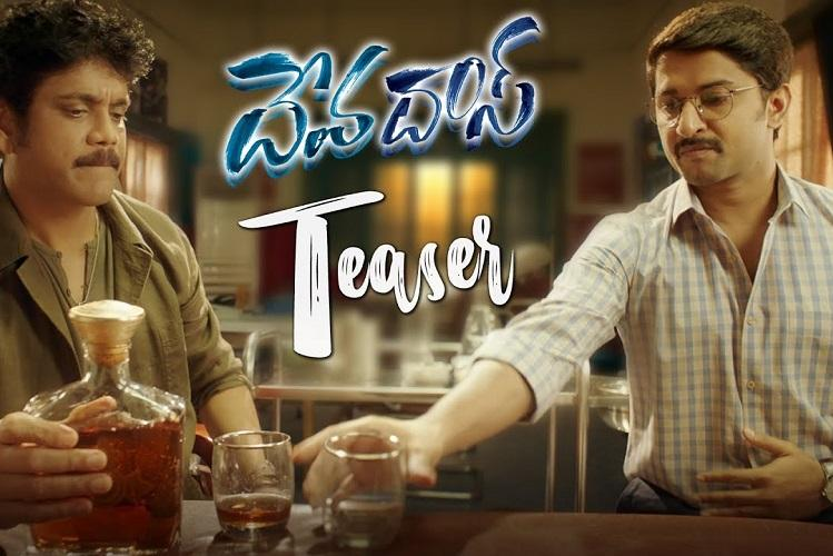 Watch Teaser of Nani and Nagarjunas Devadas will make you go cheers