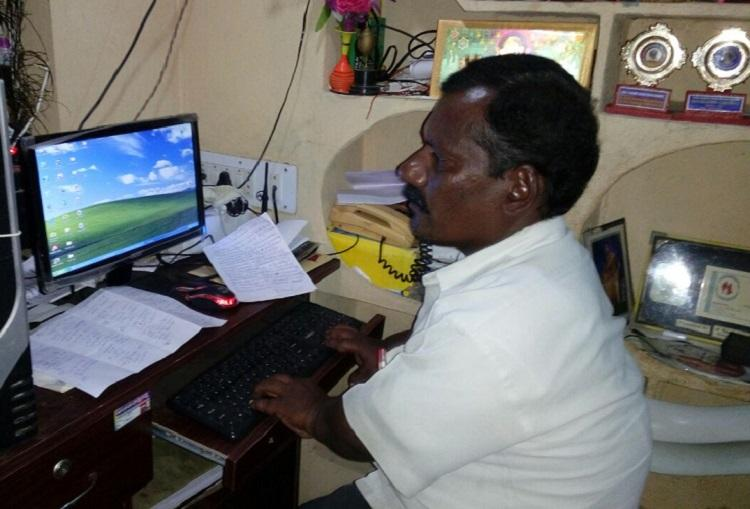 Standing tall This Telangana man overcame dwarfism to become scribe and teacher