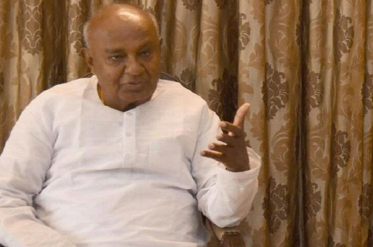 Former PM Deve Gowda on hunger strike over SC order to release Cauvery water to TN