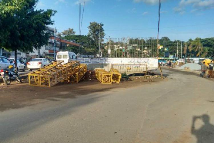 Dear govt how about finishing these Bengaluru flyovers before planning a steel one