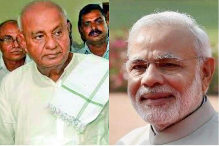 PM Modi warms up to JDS says he respects HD Deve Gowda