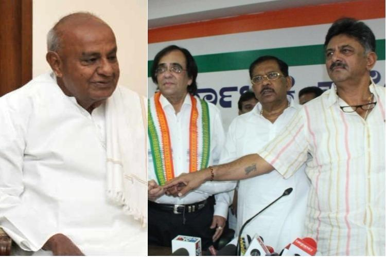 Deve Gowda-Kheny rivalry puts possible Cong-JDS post-poll alliance in jeopardy