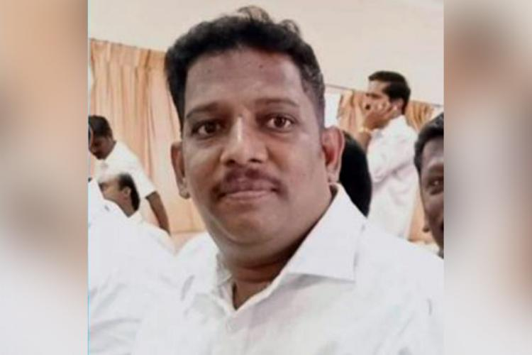 DMK former party functionary D Devendran at a function He and his brother Purushothaman are accused of threatening and extorting a woman driving her to her death