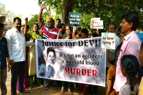 Family of Hyderabad girl alleges her death was murder not accident