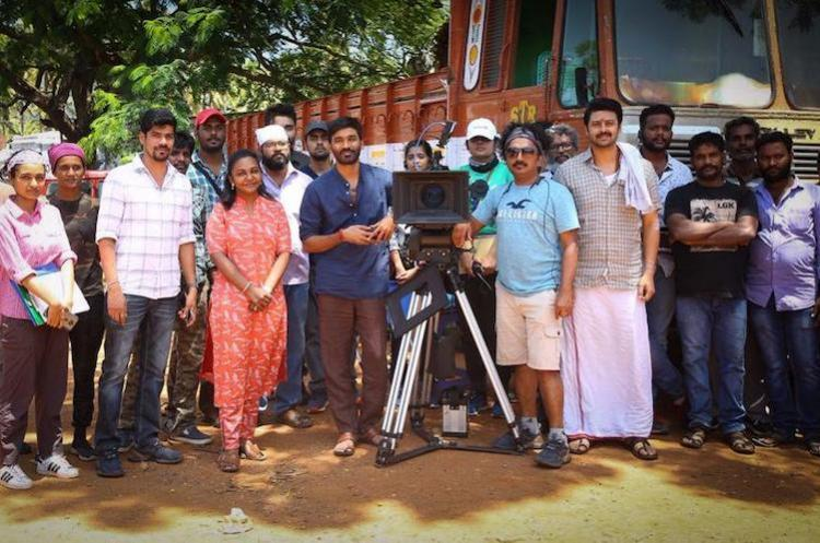 Dhanushs second directorial to be bankrolled by Sun Pictures
