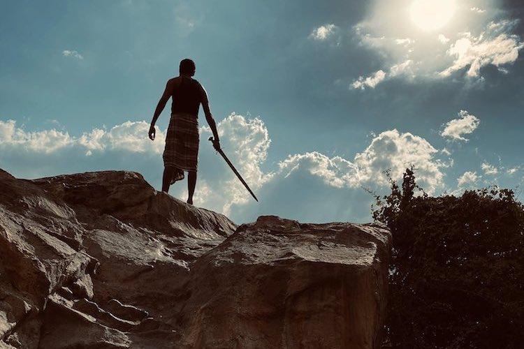 Dhanush shares shooting spot still from his next film Karnan