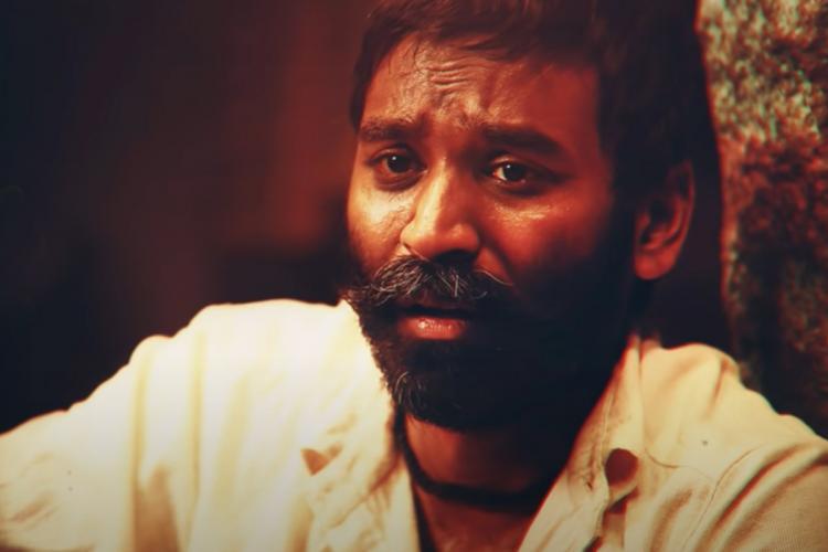 Actor Dhanush with beard in Asuran