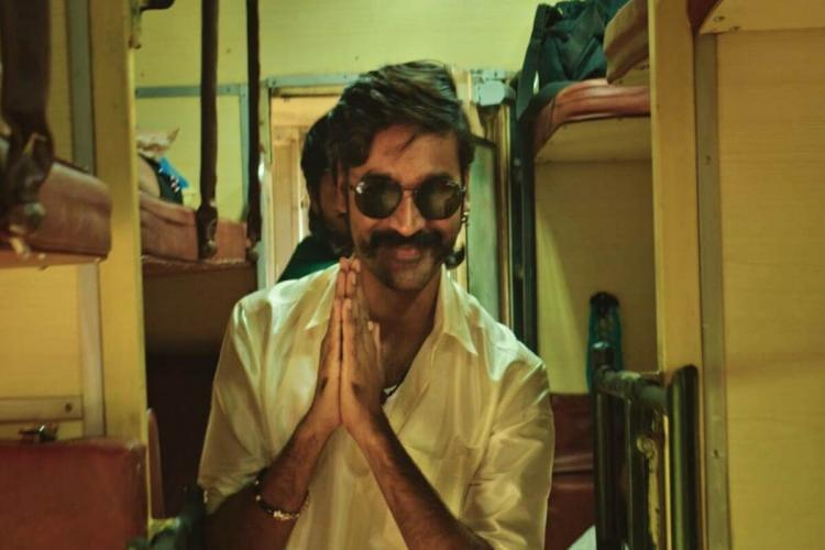 Dhanush is seen as Suruli in a screengrab from trailer of Jagame Thandhiram