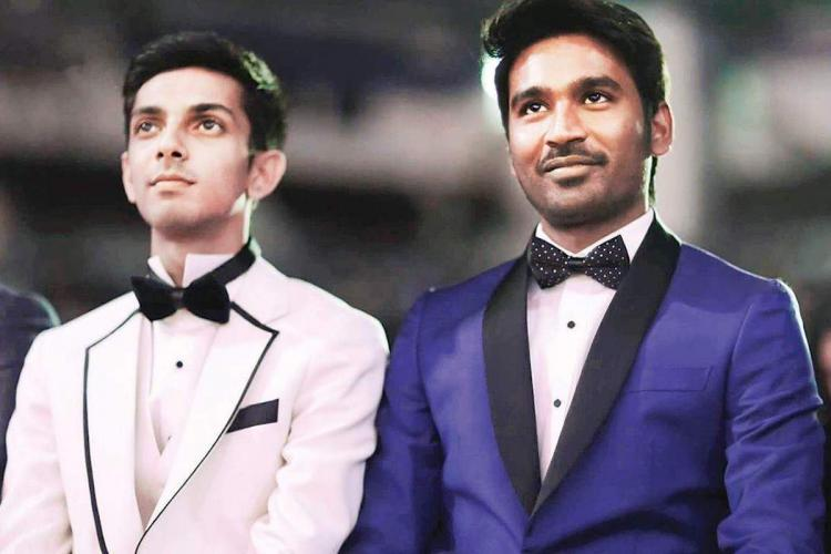 Dhanush and Anirudh Ravichander to reunite for a project soon