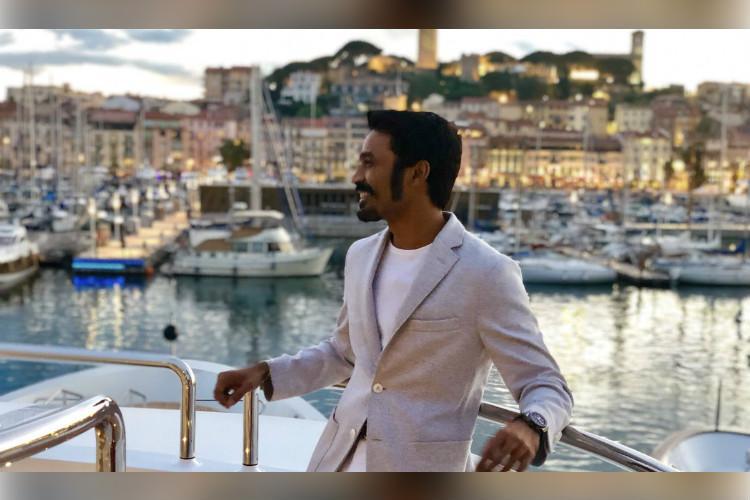 Dhanush launches Vaazhkaiya Thedi Naanum Ponen poster in Cannes