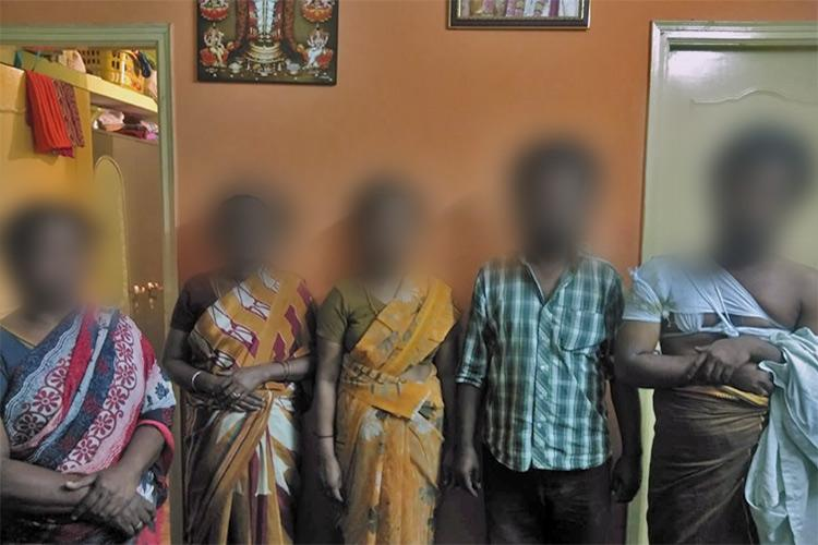 Dharmapuri caste violence 6 persons including 2 women booked for harassment assault