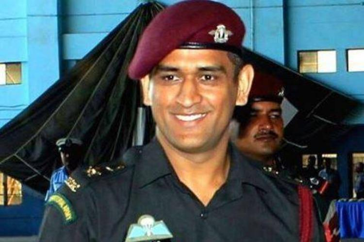 Lieutenant Colonel MS Dhoni placed on patrol guard duties in Kashmir for 15 days